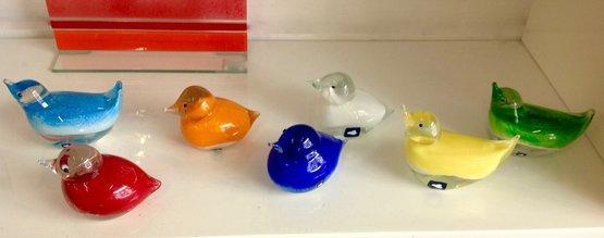 Vogels van glas
