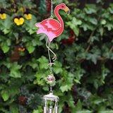 Flamingo in de tuin