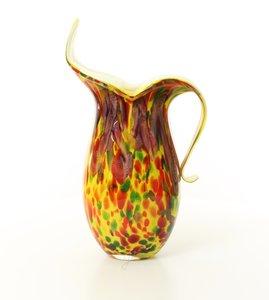 Warme kleuren vaas