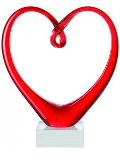 Rood liefdes hart